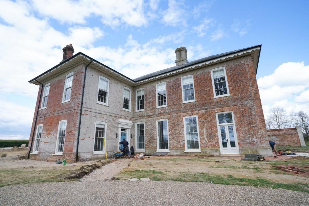 Friston Hall Front Entrance