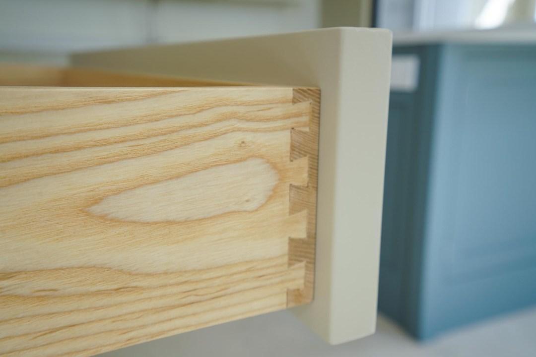Friston Hall Kitchen Drawer Close Up
