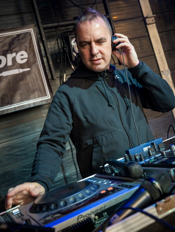 Main stage DJ and host Dave Sweetmore
