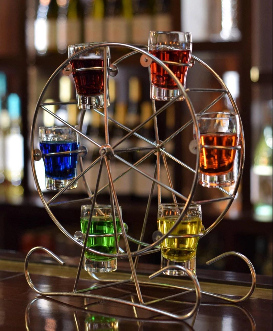 Rainbow Wheel of drinks