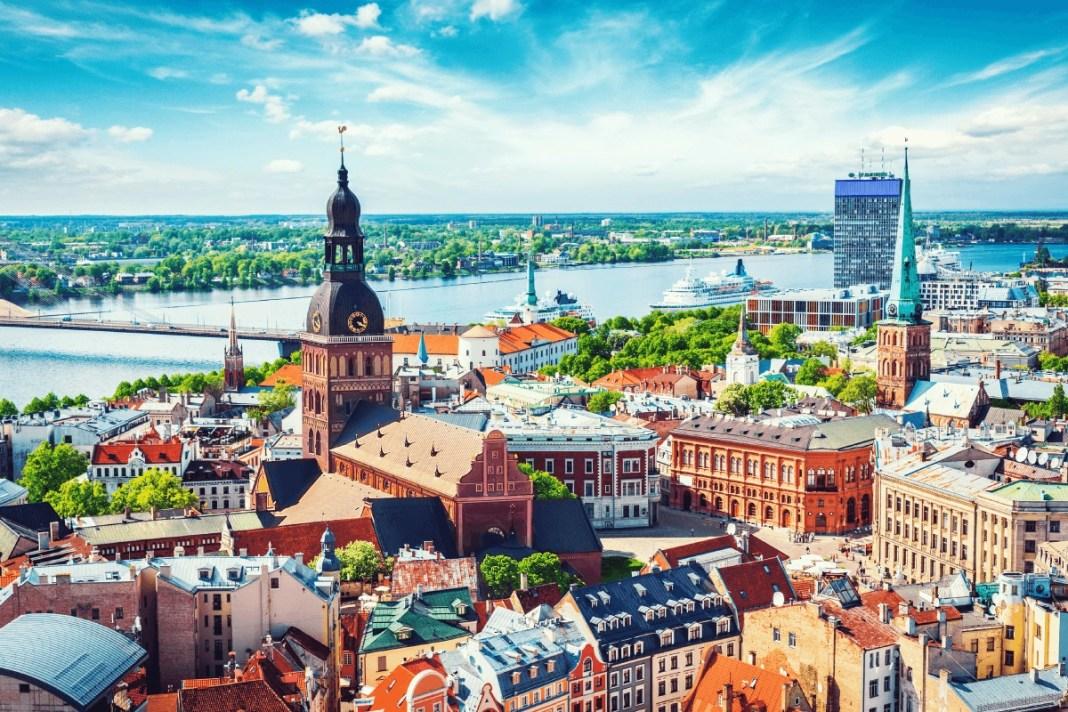 Riga the capital of Latvia