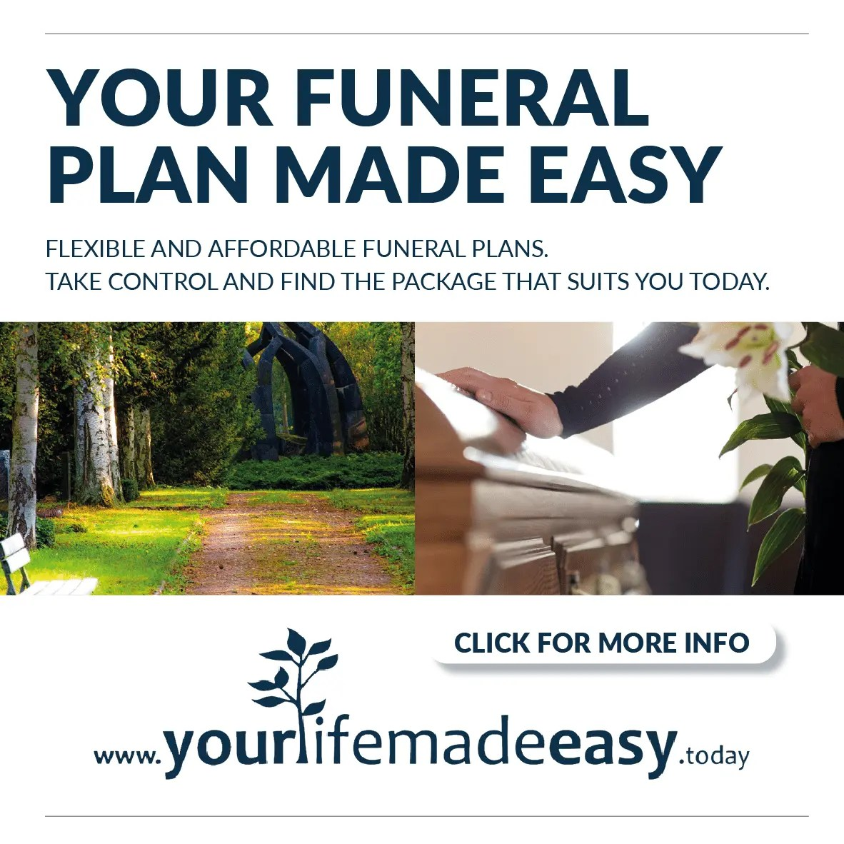 Funeral Plan Advert