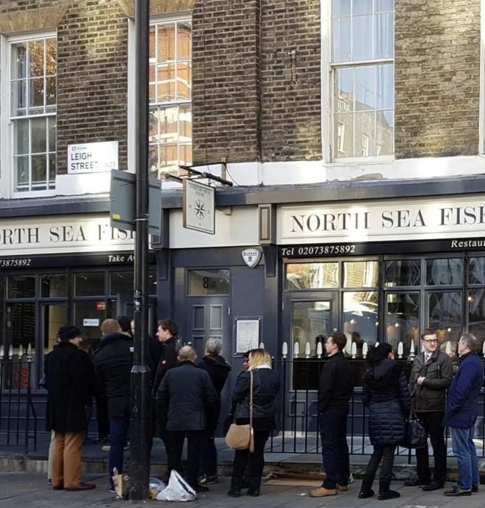 North Sea Fish and Chip restaurant