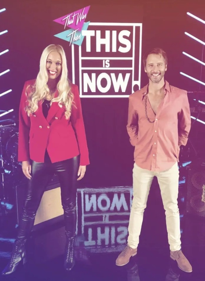 Hayley and Chesney Hawkes
