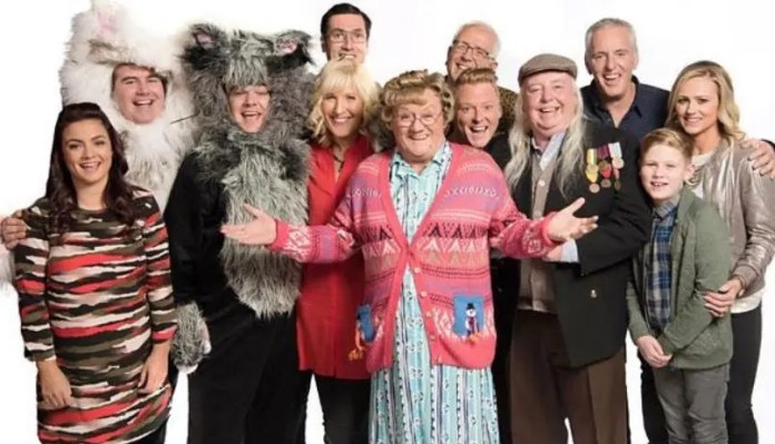 The cast of Mrs Browns Boys