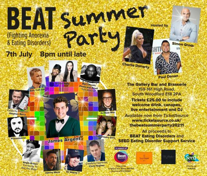 The Beat Summer Party Celebrity Charity Event 2021 – Get Tickets Now!