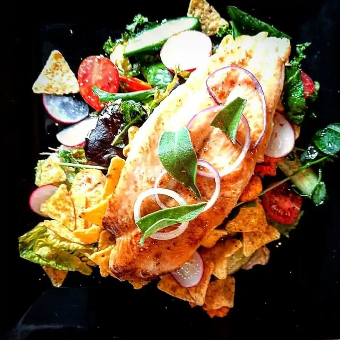 Basa Fillet Salad by Paul Watters