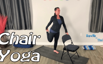 Simple Stretches with Chair (Beginner)