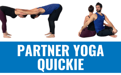 Partner Yoga Quickie