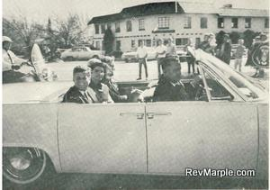JFK (John F. Kennedy) minutes before his assassination in Dallas, Texas (privately owned photo)