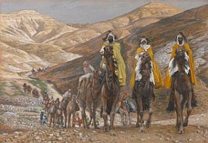 Magi Journeying by Tissot for Christmas message