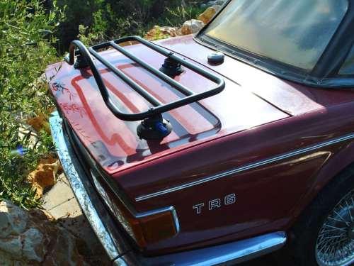 triumph tr6 luggage rack