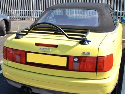 audi luggage rack fitted to 80 convertible