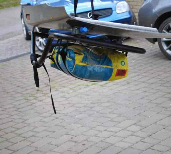 porsche boxster luggage rack tested