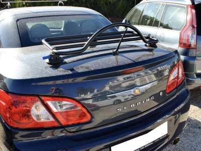 Chrysler Sebring Convertible Luggage Rack : Revo-Rack fitted to blue prht sebring