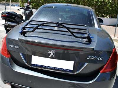 Peugeot 308 cc Luggage Rack with Revo-Rack fitted