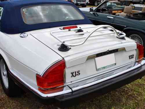 Jaguar xjs convertible luggage rack