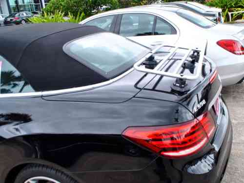 mercedes benz c class cabriolet luggage rack