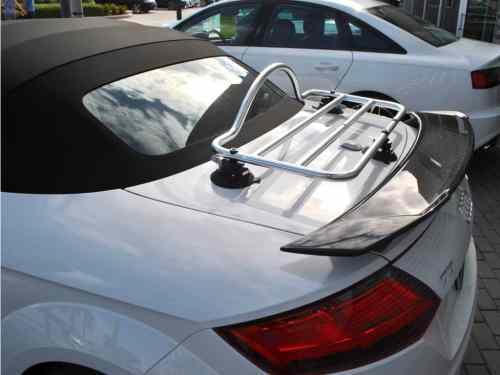 audi tt roadster stainless steel luggage rack