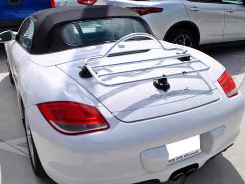 stainless steel luggage rack porsche boxster