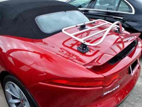 jaguar f type stainless steel luggage rack