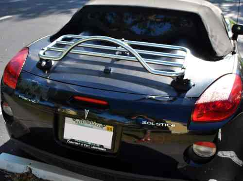 opel gt chrome luggage rack