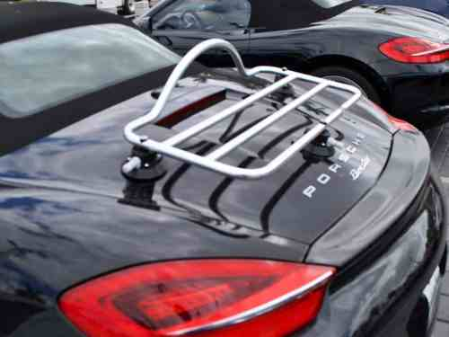 porsche boxster stainless steel luggage rack