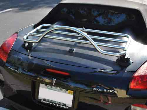 saturn sky stainless steel luggage rack