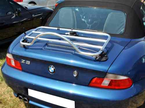 bmw z3 luggage rack stainless steel chrome