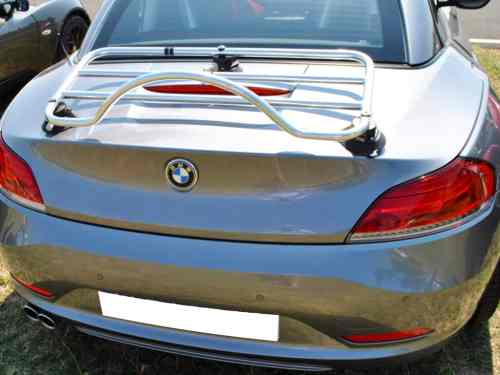 bmw e46 convertible stainless steel luggage rack