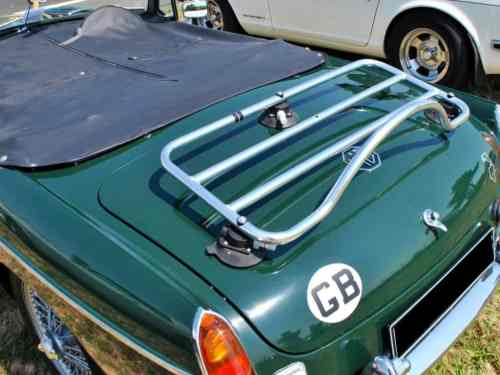 mgb stainless steeel luggage rack