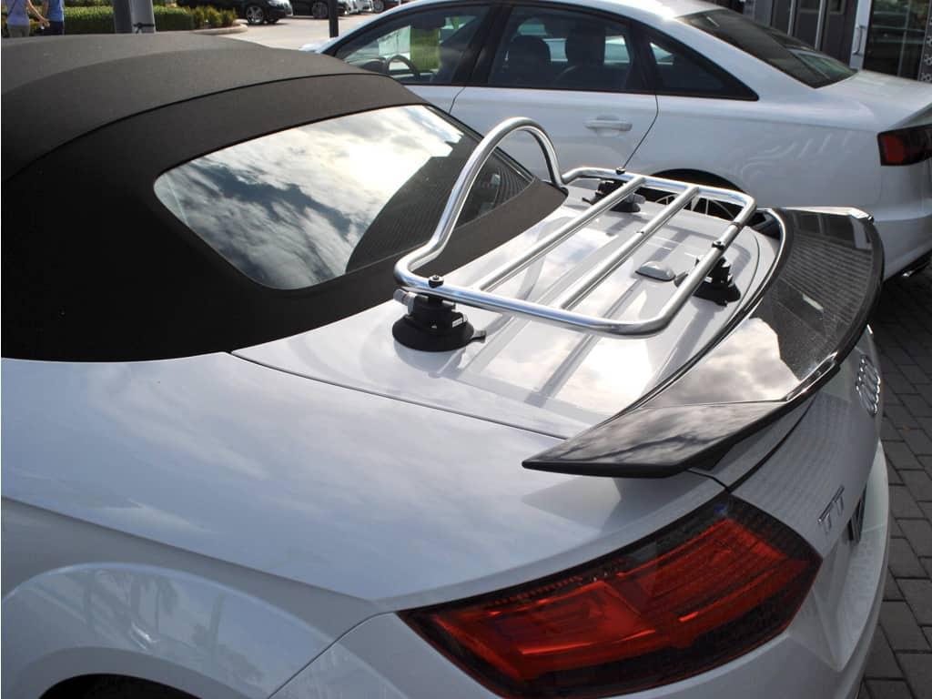 audi tt roadster cabrio typ 8s gepacktrager convertible luggage racks boot racks porte bagages portapacchi portabagagli gepacktragers cabrio convertible mx5