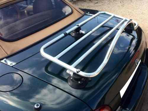 mazda mx5 mk2 miata nb stainless steel luggage rack revo rack