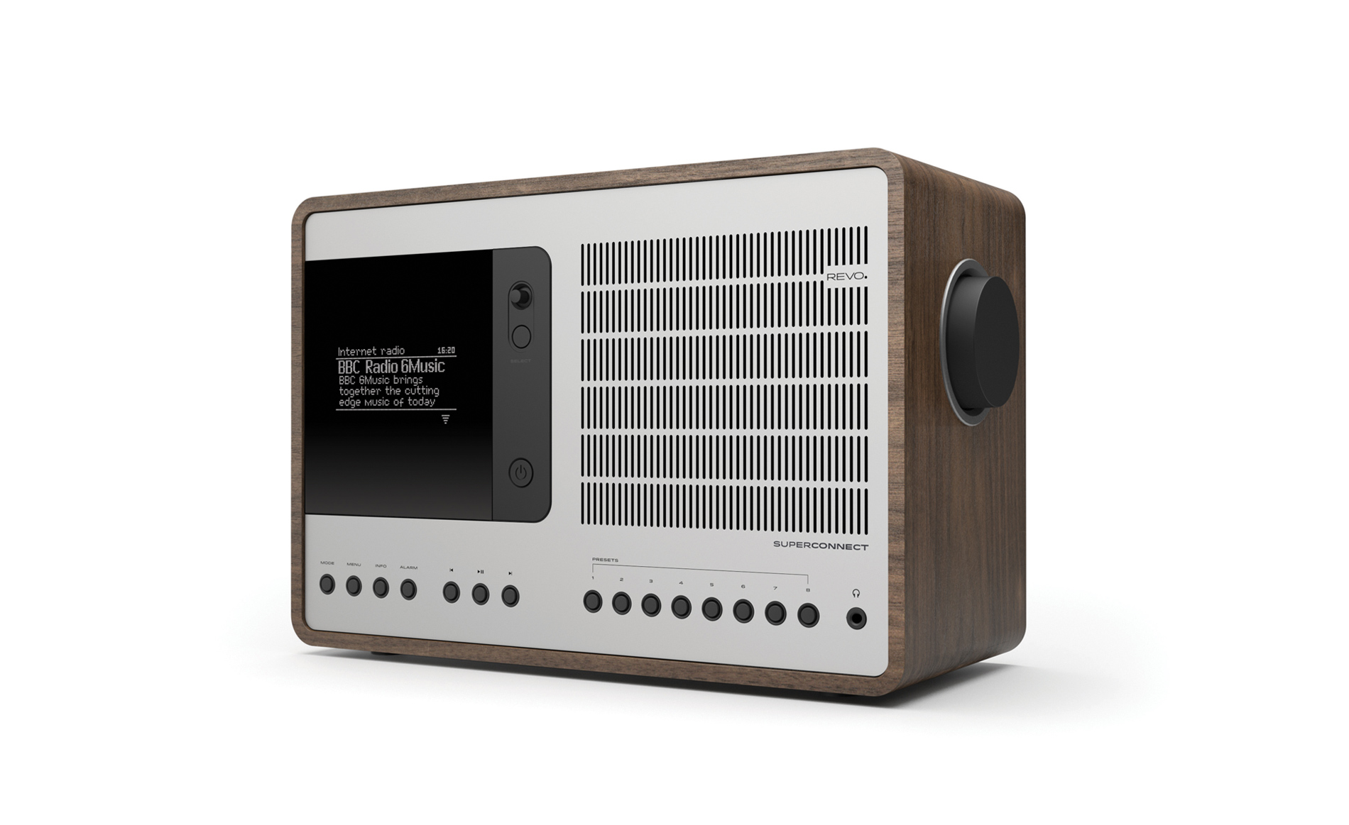 Superconnect Products Revo Award Winning Digital Radio And Fm For Sale 1 20 High Quality Images Are Walnut Silver