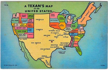 Texas View of U.S.