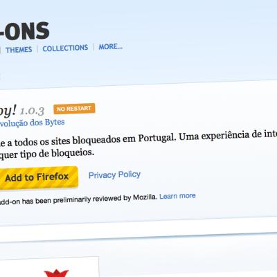 Ahoy! para Firefox já está disponível!