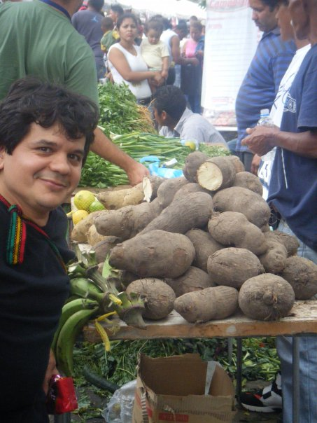 William Camacaro at a Mega Mercal (community market) in the community of Petare in Caracas, Venezuela
