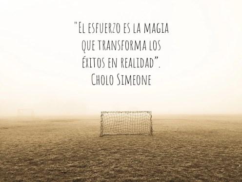 Frases fútbol motivadoras