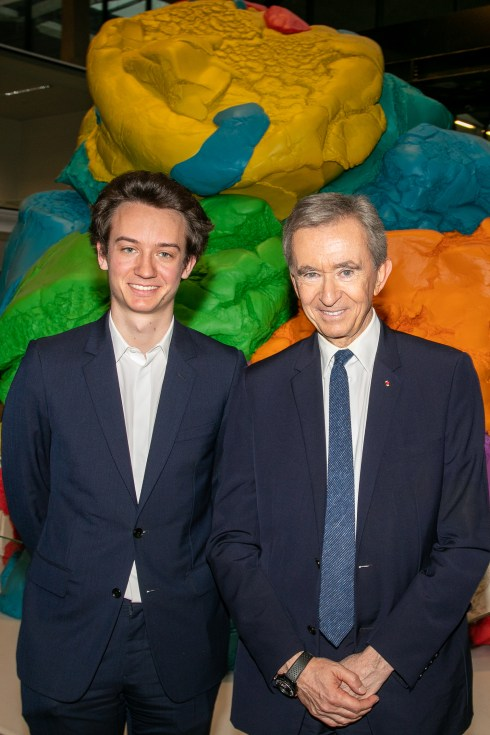 Bernard Arnault, LVMH CEO Inaugurates LVMH Start-up Accelerator In Paris