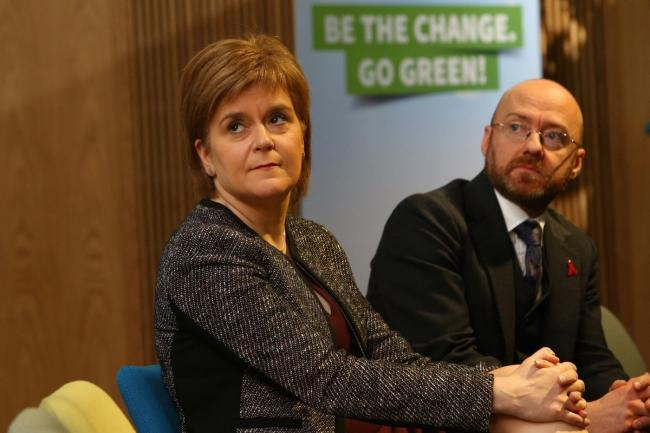 Greens sign up for SNP coalition