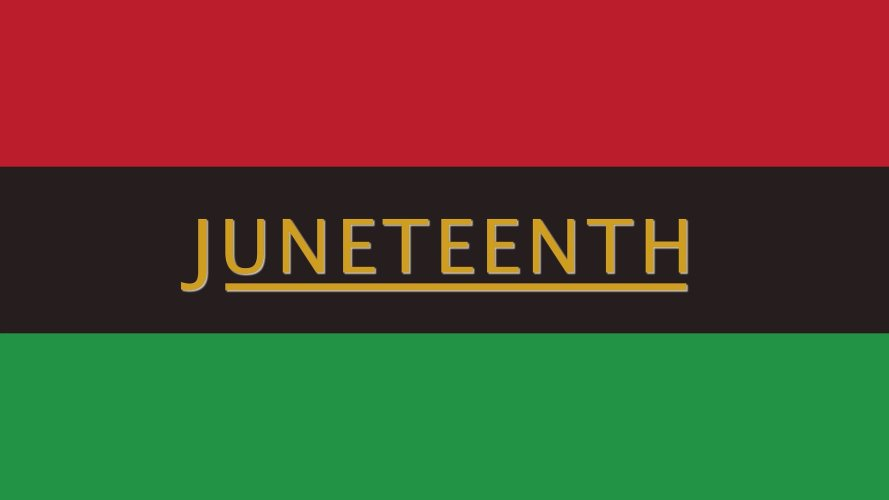 The Fourth of July and Juneteenth both represent progress and freedom.