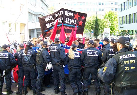 Bericht & Bilder vom Revolutionären 1. Mai 2012 in Stuttgart