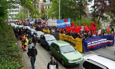 Bericht und Bilder vom 1. Mai 2013 in Stuttgart