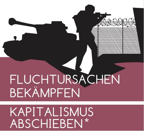 Demonstration gegen die Mandatsverlängerungen der Bundeswehr