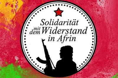 Stoppt den Angriffskrieg der Türkei! Kampf der Präsidialdiktatur von Erdogan!