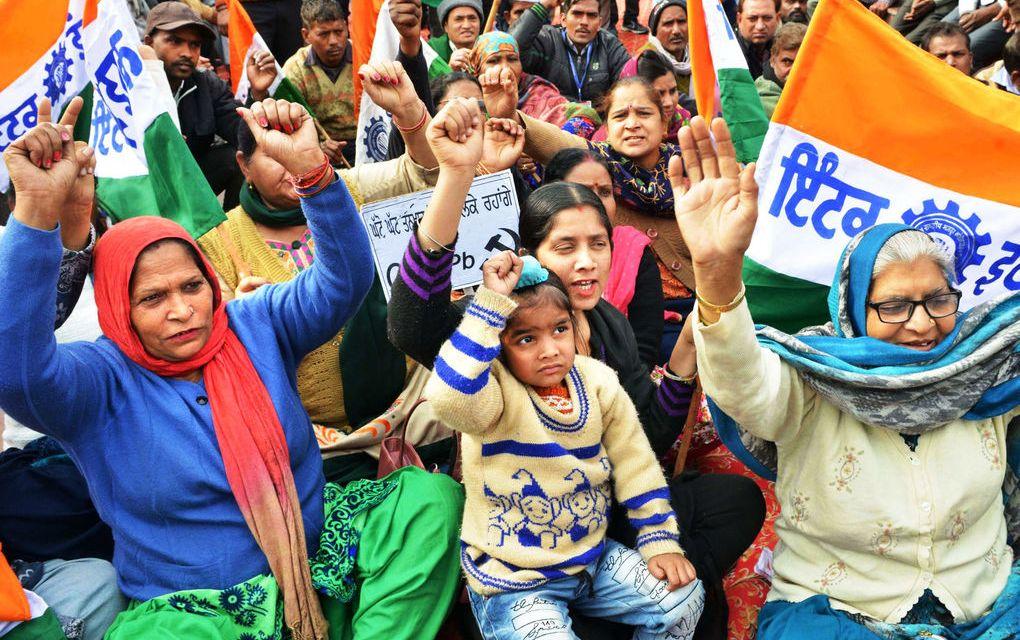 Zweitägiger Generalstreik in Indien