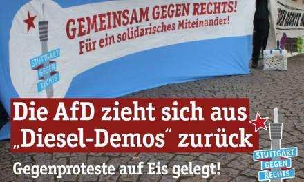 AfD Rückzieher bei Diesel-Demos