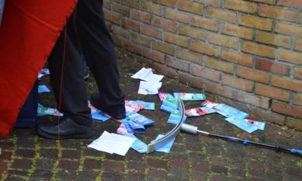 AfD-Infostand in Fellbach gestört