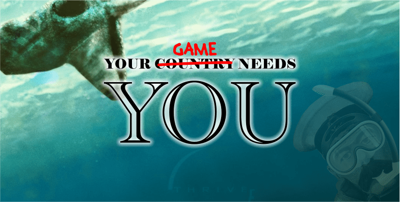 Your Game Needs You