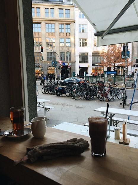 Travelguide Berlin: Kaffee im Kaffeemitte in Mitte